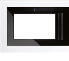 Jung Glasrahmen alpinws für Flat Panel PC R9 GL WW E