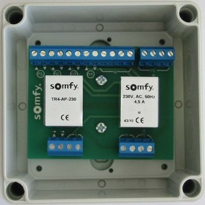 Somfy Trennrelais TR4-AP-230 für 4 Antriebe 1822293