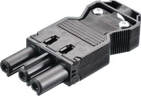 Bachmann Gerätekupplung schwarz 375.505