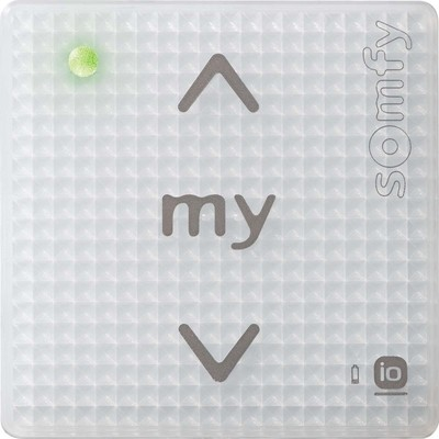 Somfy Funkwandsender 1 IN io 1-Kanal Pure Shine 1811093
