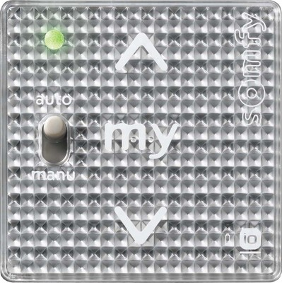Somfy Funkwandsender A/M IN io 1-Kanal Silver Shine 1811103