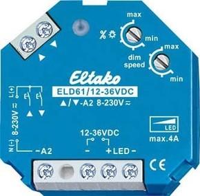 Eltako LED-Dimmschalter 12-36V DC ELD61/12-36V DC