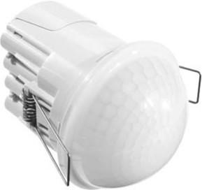 ESYLUX Decken-Präsenzmelder UP, 360° opal-m PD-CE 360/24 Slave o