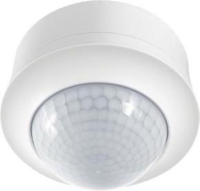 ESYLUX Decken-Präsenzmelder weiß EB, 360 Grad, 24m PD-C360i/24DUOplusSM