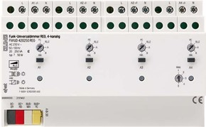 Jung Funk-Universaldimmer 4-kanalig, REG FM DU 420250 REG