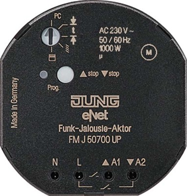 Jung Funk-Jalousie-Aktor UP FM J 50700 UP