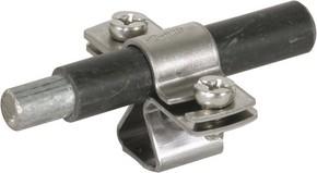 DEHN Leitungshalter f. Rd 13mm NIRO M8 274 113