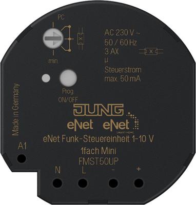 Jung Funk-Steuereinheit 1 bis 10 V FM ST 50 UP