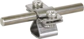 DEHN Leitungshalter f. Rd 8-10mm NIRO M8 274 110
