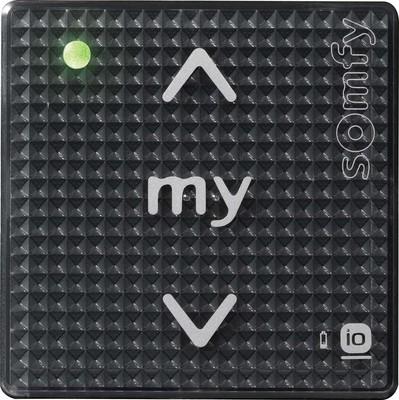 Somfy Funksteuerung schwarz Smoove shinetouch io 1811005