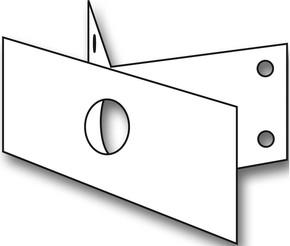Steinel Eck-Wandhalter EWH 03 weiß