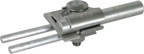 DEHN Fangstangenklemme D=16mm, Al,8-10mm 380 116