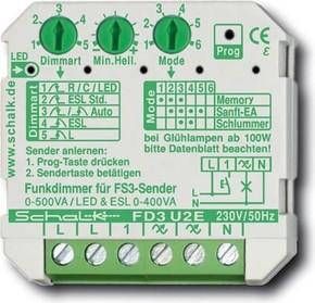 Schalk Funk-Universal-Dimmer FD3 U2E