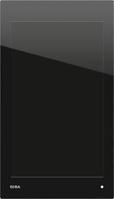 Gira Anschlussmodul UP PoE glas/schwarz 206905