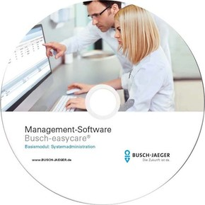 Busch-Jaeger Management Software Rufsysteme easycare 1599