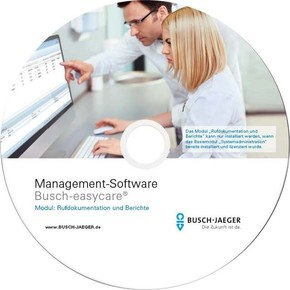 Busch-Jaeger Management Software Rufsysteme easycare 1599/01
