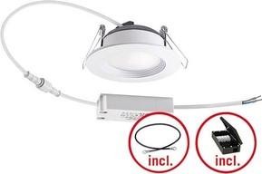 ESYLUX LED-Downlight 4000K inkl. Treiber an/aus IDLELS05 #EO10299711