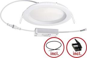 ESYLUX LED-Downlight 3000K inkl. Treiber an/aus IDLELS06 #EO10299728