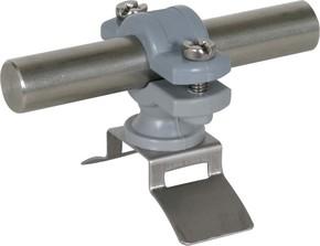 DEHN Stangenhalter aus PA für Rd, 16mm LH ZS 16 SBB PA V2A