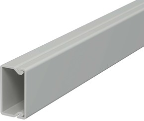 OBO Bettermann Vertr Wand+Deckenkanal m.Obert. 15x30mm,PVC WDK15030GR