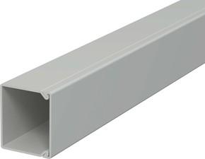 OBO Bettermann Vertr Wand+Deckenkanal m.Obert. 30x30mm,PVC WDK30030GR