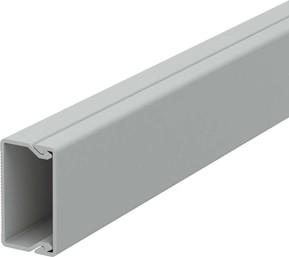 OBO Bettermann Vertr Wand+Deckenkanal m.Obert. 20x35mm,PVC WDK20035GR