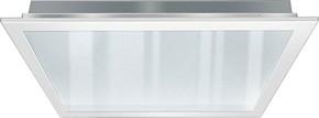 ESYLUX LED-Einbauleuchte 625mm prismatisch, 3000K PNLCEL11 #EQ10122071