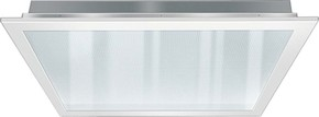 ESYLUX LED-Einbauleuchte 625mm prismatisch, 4000K CELINEPNL#EQ10122095