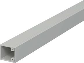 OBO Bettermann Vertr Wand+Deckenkanal m.Obert. 15x15mm,PVC WDK15015GR