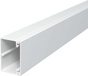 OBO Bettermann Vertr Wand+Deckenkanal m.Obert. 40x60mm,PVC WDK40060LGR