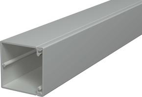 OBO Bettermann Vertr Wand+Deckenkanal m.Obert. 60x60mm,PVC WDK60060GR