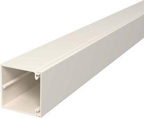 OBO Bettermann Vertr Wand+Deckenkanal m.Obert. 60x60mm,PVC WDK60060CW