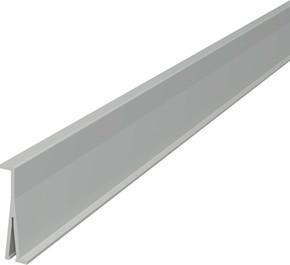 OBO Bettermann Vertr Trennwand PVC,grau 2371 40