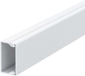 OBO Bettermann Vertr Wand+Deckenkanal m.Obert. 20x35mm,PVC WDK20035RW