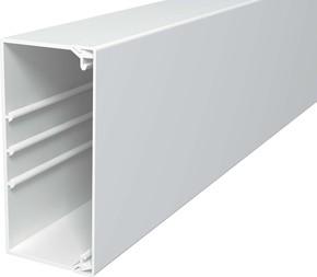 OBO Bettermann Vertr Wand+Deckenkanal m.Obert. 60x130mm,PVC WDK60130RW