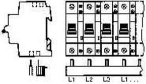 ABB Stotz S&J Phasenschiene PS 3/24H
