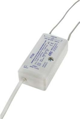 Scharnberger+Hasenbein Trafo für Halogen+LED 230/12VAC 0-50W 58490