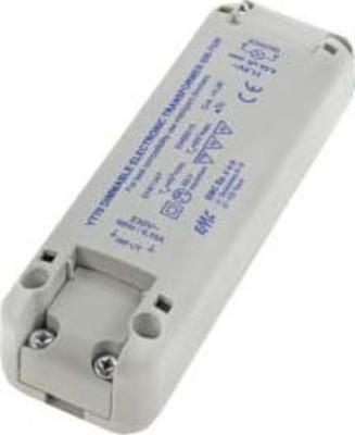 Scharnberger+Hasenbein Trafo für Halogen+LED 230/12VAC 0-70W 58492