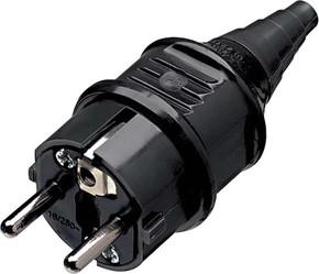 Mennekes Schuko-Stecker 16A,2p+E,230V,IP44sw 10754