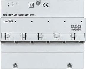 Jung Netzteil integriert 100-240V 5-Port REG SW 5 REG