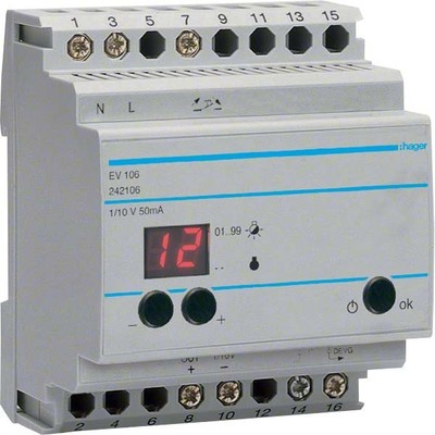Hager Fernsteuergerät EV106