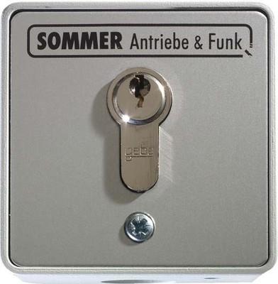 Sommer Schlüsseltaster 2Kont.m.Zyl. aP 5008V000