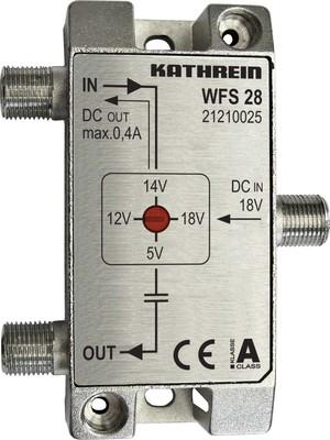 Kathrein Fernspeise-Weiche 5-2150MHz F-Conect. WFS 28