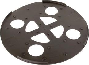 DEHN Unterlegplatte Kunststoff D370mm schwarz 102 050