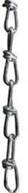 Scharnberger+Hasenbein Stahl-Knotenkette D=2,5mm 88036