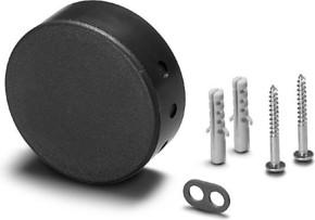 Houben Deckenverteiler Pressstoff, schwarz 990122
