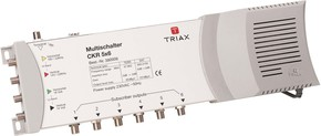 Triax Hirschmann Multischalter 4SAT+1terr.Eing.12f. CKR 5x12