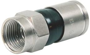 Triax Hirschmann F-Kompressionsstecker für Kabel 4,6mm EX 6-49/83