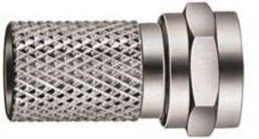 Triax Hirschmann F-Aufdrehstecker Kabeldurchm.ca.7,0mm SFC 070
