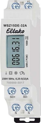 Eltako Wechselstromzähler ungeeicht WSZ15DE-32A